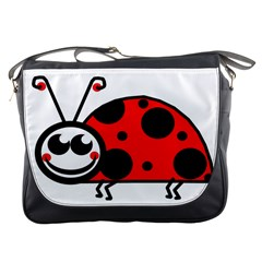 Lady Bug Clip Art Drawing Messenger Bags by goodart