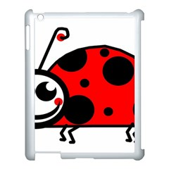 Lady Bug Clip Art Drawing Apple Ipad 3/4 Case (white)