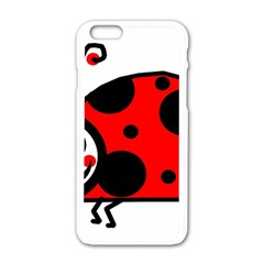 Lady Bug Clip Art Drawing Apple Iphone 6/6s White Enamel Case