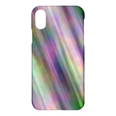 Gradient With Resynthetize Texture Apple Iphone X Hardshell Case