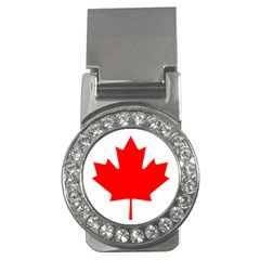 Flag Of Canada Money Clips (cz)  by goodart