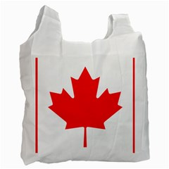 Flag Of Canada Recycle Bag (one Side) by goodart