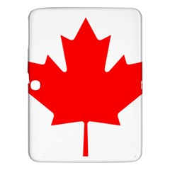 Flag Of Canada Samsung Galaxy Tab 3 (10 1 ) P5200 Hardshell Case  by goodart