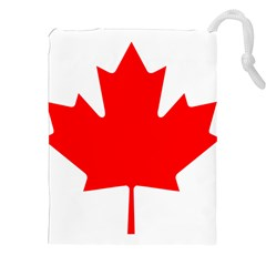 Flag Of Canada Drawstring Pouches (xxl) by goodart