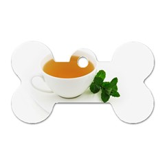 Tea Dog Tag Bone (two Sides) by goodart