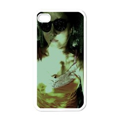 Selfy In A Shades Apple Iphone 4 Case (white) by bestdesignintheworld