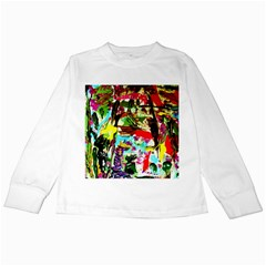 No Warrant For Blossoming Corner Kids Long Sleeve T Shirts by bestdesignintheworld