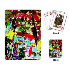 No Warrant For Blossoming Corner Playing Card by bestdesignintheworld