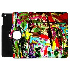 No Warrant For Blossoming Corner Apple Ipad Mini Flip 360 Case by bestdesignintheworld
