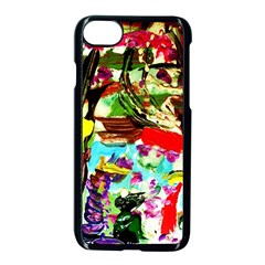 No Warrant For Blossoming Corner Apple Iphone 7 Seamless Case (black) by bestdesignintheworld