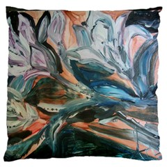 Night Lillies Standard Flano Cushion Case (one Side) by bestdesignintheworld