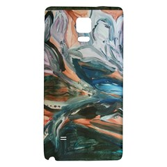Night Lillies Galaxy Note 4 Back Case by bestdesignintheworld