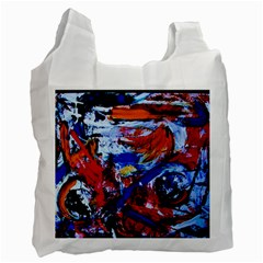 Mixed Feelings Recycle Bag (one Side) by bestdesignintheworld