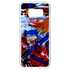Mixed Feelings Samsung Galaxy S8 White Seamless Case by bestdesignintheworld