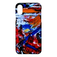 Mixed Feelings Apple Iphone X Hardshell Case by bestdesignintheworld
