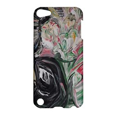 Lady With Lillies Apple Ipod Touch 5 Hardshell Case by bestdesignintheworld