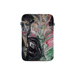 Lady With Lillies Apple Ipad Mini Protective Soft Cases by bestdesignintheworld
