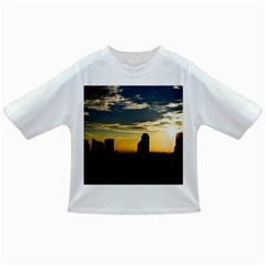 Skyline Sunset Buildings Cityscape Infant/toddler T Shirts by Simbadda