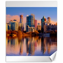 Vancouver Canada Sea Ocean Canvas 8  X 10  by Simbadda