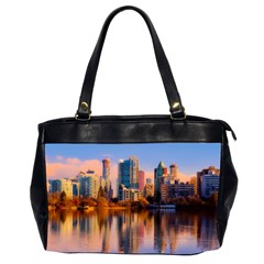 Vancouver Canada Sea Ocean Office Handbags (2 Sides)