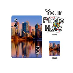 Vancouver Canada Sea Ocean Playing Cards 54 (mini)  by Simbadda