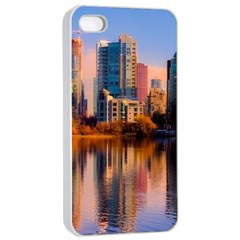 Vancouver Canada Sea Ocean Apple Iphone 4/4s Seamless Case (white) by Simbadda