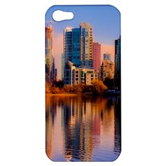 Vancouver Canada Sea Ocean Apple Iphone 5 Hardshell Case by Simbadda