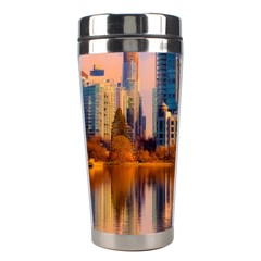 Vancouver Canada Sea Ocean Stainless Steel Travel Tumblers by Simbadda