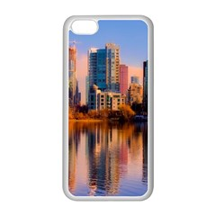 Vancouver Canada Sea Ocean Apple Iphone 5c Seamless Case (white) by Simbadda