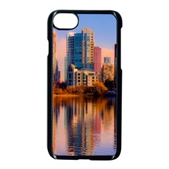 Vancouver Canada Sea Ocean Apple Iphone 8 Seamless Case (black)