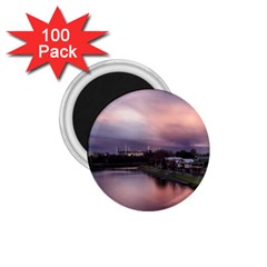 Sunset Melbourne Yarra River 1 75  Magnets (100 Pack)  by Simbadda