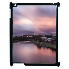 Sunset Melbourne Yarra River Apple Ipad 2 Case (black) by Simbadda