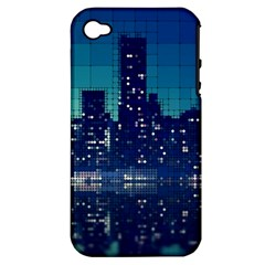 Skyscrapers City Skyscraper Zirkel Apple Iphone 4/4s Hardshell Case (pc+silicone) by Simbadda