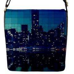 Skyscrapers City Skyscraper Zirkel Flap Messenger Bag (s)
