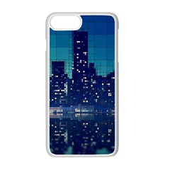 Skyscrapers City Skyscraper Zirkel Apple Iphone 7 Plus Seamless Case (white) by Simbadda