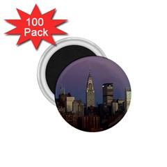 Skyline City Manhattan New York 1 75  Magnets (100 Pack)