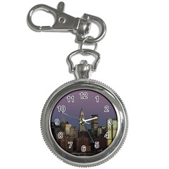 Skyline City Manhattan New York Key Chain Watches by Simbadda