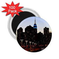 New York City Skyline Building 2 25  Magnets (100 Pack)