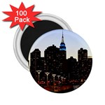 New York City Skyline Building 2.25  Magnets (100 pack)  Front