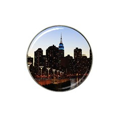 New York City Skyline Building Hat Clip Ball Marker (10 Pack)