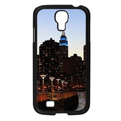 New York City Skyline Building Samsung Galaxy S4 I9500/ I9505 Case (black)