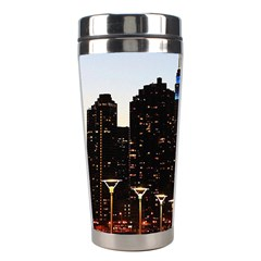 New York City Skyline Building Stainless Steel Travel Tumblers