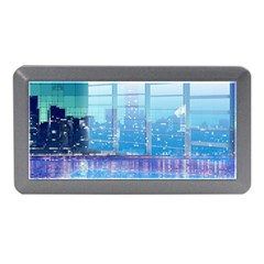Skyscrapers City Skyscraper Zirkel Memory Card Reader (mini)