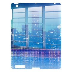 Skyscrapers City Skyscraper Zirkel Apple Ipad 3/4 Hardshell Case by Simbadda
