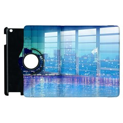 Skyscrapers City Skyscraper Zirkel Apple Ipad 3/4 Flip 360 Case