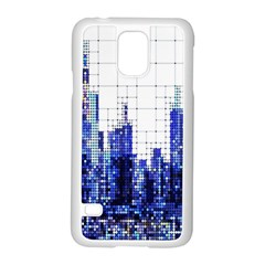 Skyscrapers City Skyscraper Zirkel Samsung Galaxy S5 Case (white)