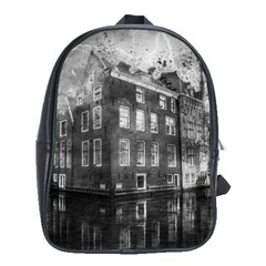Reflection Canal Water Street School Bag (xl)