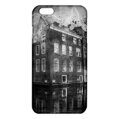Reflection Canal Water Street Iphone 6 Plus/6s Plus Tpu Case