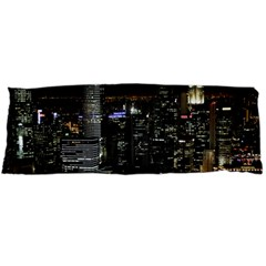 City At Night Lights Skyline Body Pillow Case Dakimakura (two Sides)