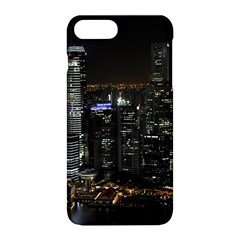 City At Night Lights Skyline Apple Iphone 8 Plus Hardshell Case